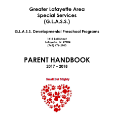 Preschool Parent Handbook 2017-18