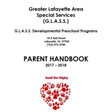 Preschool Parent Handbook 2017-18